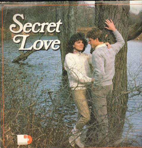 Secret Love - Secret Love - America's Favorite Love Ballads of the 1970s & 1980s, all Original Recordings by the Original Artists on 4 vinyl STEREO LP record set (counts as 3 LPs). Included: Stand By Me, Everything I Own, Cherish, Ooh Baby Baby, Sealed Wi