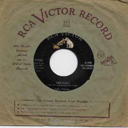 Sedaka, Neil - The Diary/No Vacancy (with RCA company sleeve) - EX8/ - 45 rpm Records
