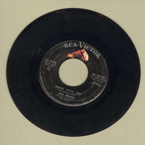 Sedaka, Neil - Sweet Little You/I Found My World In You  - VG7/ - 45 rpm Records