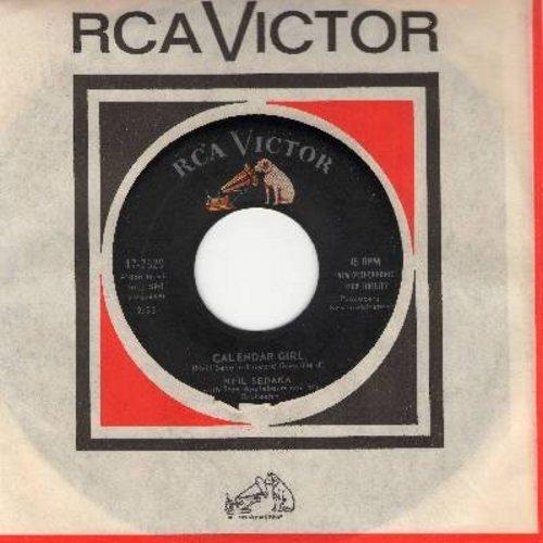 Sedaka, Neil - Calendar Girl/The Same Old Fool (with RCA company sleeve) - NM9/ - 45 rpm Records