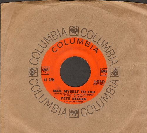 Seeger, Pete - Mail Myself To You/Little Boxes (with Columbia company sleeve) - VG7/ - 45 rpm Records