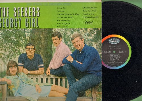 Seekers - Georgy Girl: Yesterday, Red Rubber Ball, California Dreamin', Island Of Dreams, All Over The World (vinyl STEREO LP record, NICE condition!) - NM9/NM9 - LP Records