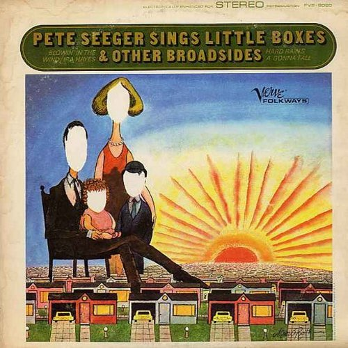 Seeger, Pete - Pete Seeger Sings Little Boxes & Other Broadsides: Blowin' In The Wind, Bill Brown, The Thresher, Who Killed Norma Jean?, If You Want To Go To Freedom (vinyl STEREO LP record) - NM9/VG7 - LP Records