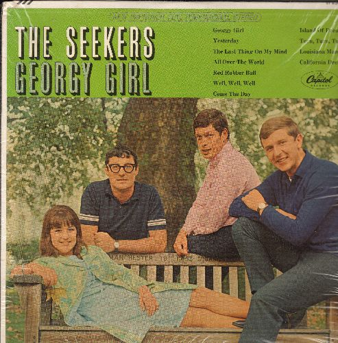 Seekers - Georgy Girl: Yesterday, Red Rubber Ball, California Dreamin', Island Of Dreams, The Last Thing On My Mind, All Over The World (SEALED, never opened!) - SEALED/SEALED - LP Records