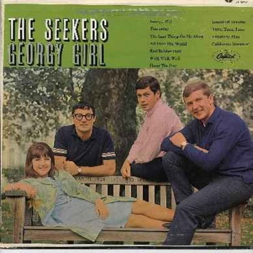 Seekers - Georgy Girl: Yesterday, Red Rubber Ball, California Dreamin', Island Of Dreams, The Last Thing On My Mind, All Over The World - EX8/VG7 - LP Records