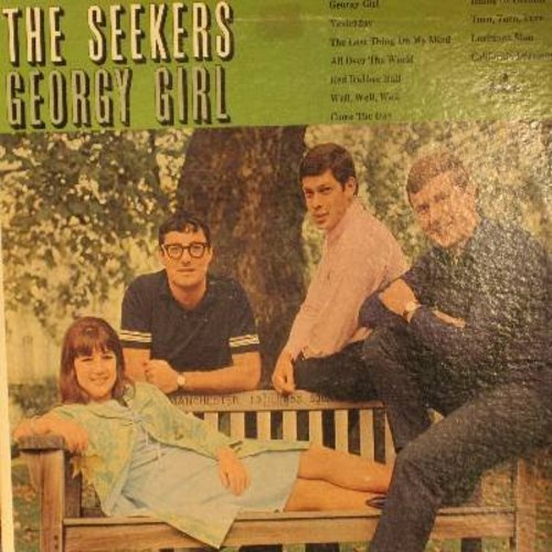 Seekers - Georgy Girl: Yesterday, Red Rubber Ball, California Dreamin', Island Of Dreams, The Last Thing On My Mind, All Over The World - NM9/VG7 - LP Records