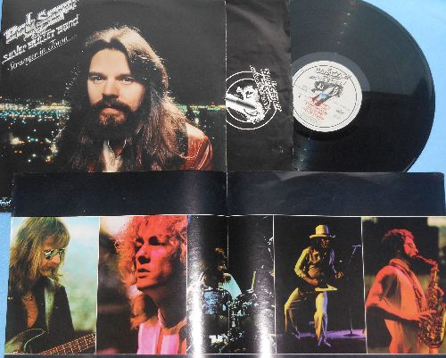Seger, Bob & The Silver Bullet Band - Stranger In Town: Old Time Rock & Roll (PARTY FAVORITE!), Hollywood Nights, Feel Like A Number, Still The Same, Ain't Got No Money (vinyl STEREO LP record with BONUS Poster!) - NM9/VG7 - LP Records