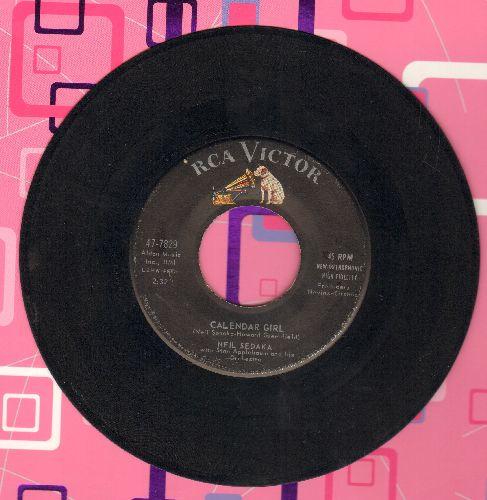 Sedaka, Neil - Calendar Girl/The Same Old Fool - EX8/ - 45 rpm Records