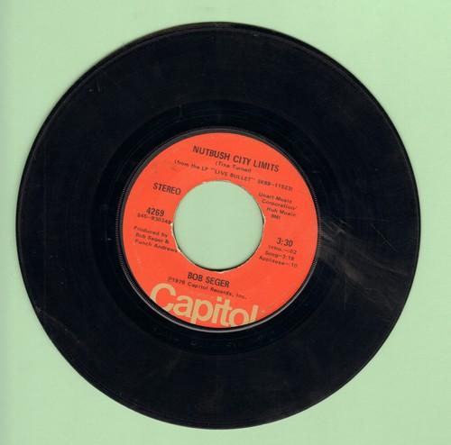 Seger, Bob - Nutbush City Limits/Lookin' Back - VG7/ - 45 rpm Records