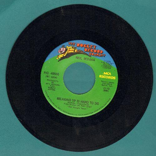Sedaka, Neil - Breaking Up Is Hard To Do/Nana's Song  - NM9/ - 45 rpm Records