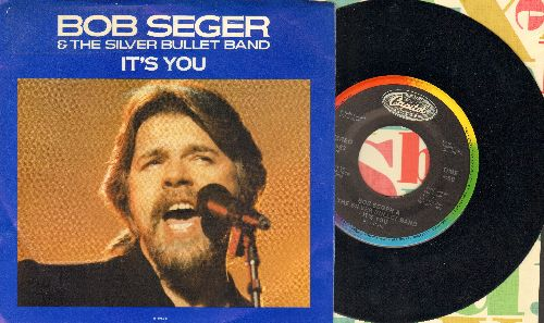 Seger, Bob & The Silver Bullet Band - It's You/The Aftermath (with picture sleeve) - NM9/EX8 - 45 rpm Records