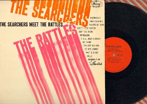 Searchers - The Searchers Meet The Rattles: Twist And Shout, Zip-A-Dee Doo-Dah, Maybelline, Sweet Nothin's, Dream Baby, The Stimp (vinyl MONO LP record) - NM9/VG7 - LP Records