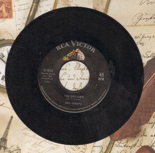 Sedaka, Neil - The Dreamer/Look Inside Your Heart - VG7/ - 45 rpm Records