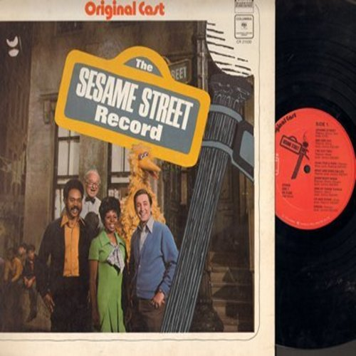 Sesame Street - The Sesame Street Record: Rubber Duckie, I Love Trash, Sesame Street Theme (vinyl STEREO LP record) - VG7/EX8 - LP Records
