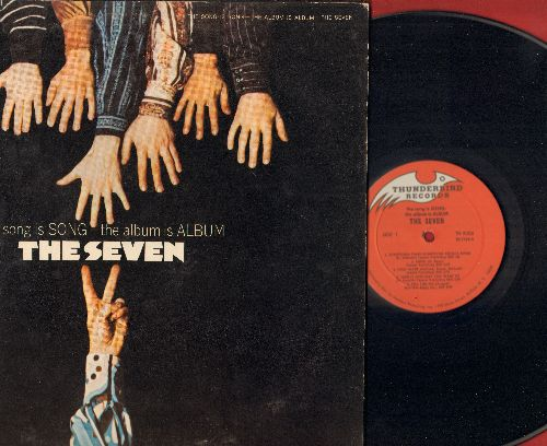 The Seven - The Song Is Song - The Album Is Album: Something Times Something Equals Seven, Heat Wave, Flushed, Brake, Tell Her No (vinyl STEREO LP record, gate-fold cover) - NM9/EX8 - LP Records