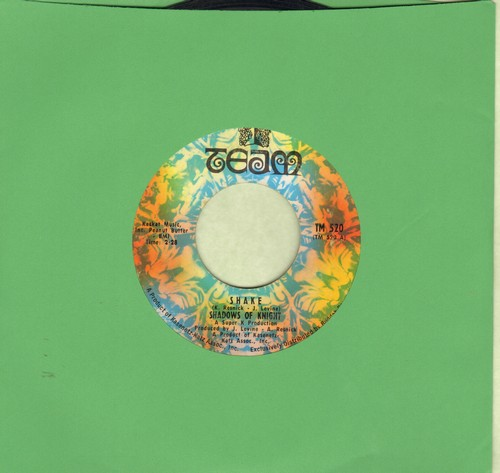 Shadows Of Knight - Shake/From Way Out To Way Under  - EX8/ - 45 rpm Records