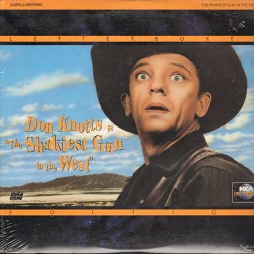Shakiest Gun In The West - The Shakiest Gun In The West - LASER DISC Letterbox Version of the Don Knotts Comedy Hit, SEALED, never opened! (This is a LASER DISC, not any other kind of media!) - SEALED/SEALED - Laser Discs