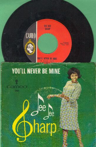 Sharp, Dee Dee - Rock Me In The Cradle Of Love/You'll Never Be Mine (with picture sleeve) (sos, wol) - EX8/VG7 - 45 rpm Records
