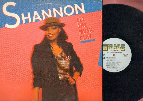Shannon - Let The Music Play: Sweet Somebody, Give Me Tonight, Let The Music Play (Radio Version + Extended Remix) (vinyl STEREO LP record) - VG7/VG7 - LP Records