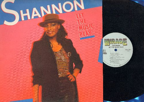 Shannon - Let The Music Play: Sweet Somebody, Give Me Tonight, Let The Music Play (Radio Version + Extended Remix) (vinyl STEREO LP record) - NM9/EX8 - LP Records