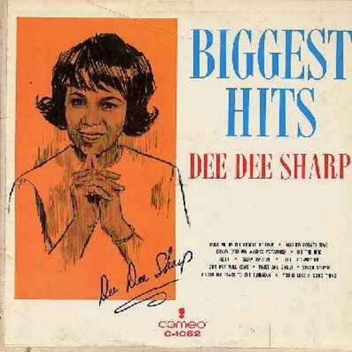 Sharp, Dee Dee - Biggest Hits: Mashed Potato Time, Gravy (For My Mashed Potatoes), Do The Bird, Ride!, Slow Twistin', The Loco-Motion, I Sold My Heart To The Junkman, You'll Lose A Good Thing, Splish Splash, Our Day Will Come (vinyl MONO LP record) - VG7/