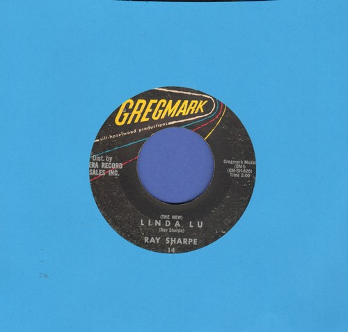 Sharpe, Ray - (The New) Linda Lou/The Bus Song - EX8/ - 45 rpm Records