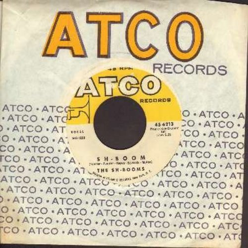 Sh-Booms - Sh-Boom/Little Maiden (with vintage Atco company sleeve) - NM9/ - 45 rpm Records