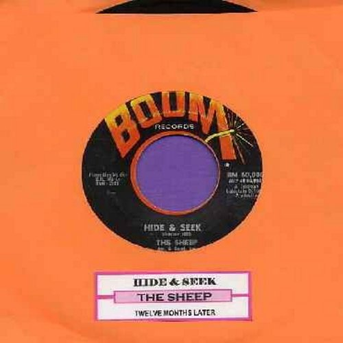 Sheep (Strangeloves) - Hide & Seek/Twelve Months Later (with juke box label) - EX8/ - 45 rpm Records
