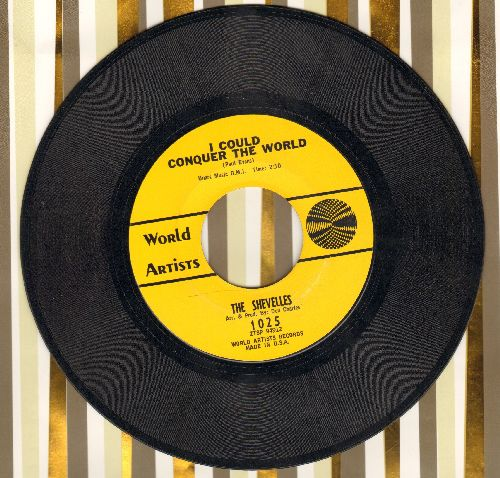 Shevelles - I Could Conquer The World/How Would You Like Me To Love You (wol) - NM9/ - 45 rpm Records