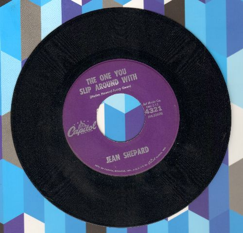 Shepard, Jean - The One You Slip Around With/The Mysteries Of Life - EX8/ - 45 rpm Records