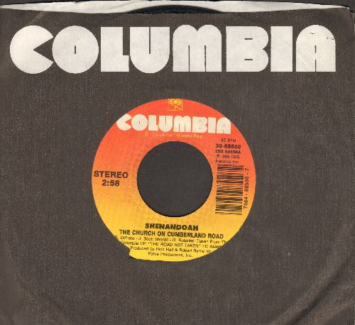 Shenandoah - The Church On Cumberland Road (WEDDING DANCE FAVORITE!)/She Doesn't Cry Anymore - NM9/ - 45 rpm Records