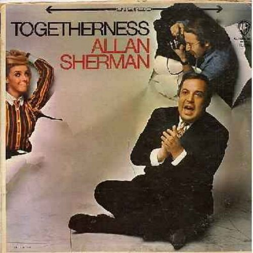 Sherman, Allan - Togetherness: Westchester Hadassah (Winchester Cathedral), Strange Things In My Soup, If I Were A Tishman (If I Were A Rich Man), My Aunt Minnie, Plan Ahead, Signs (vinyl STEREO LP record) - M10/VG7 - LP Records