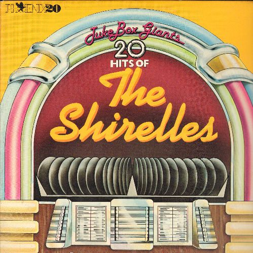Shirelles - The Shirelles: Soldier Boy, Baby It's You, Stop The Music, Foolish Little Girl, Mama Said (vinyl LP record) - M10/EX8 - LP Records