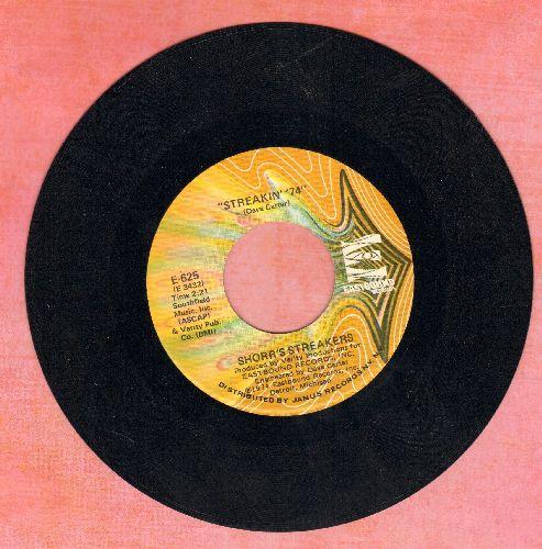 Shorr's Streakers - Streakin' '74/Virgil (Instrumental)(RARE cut-in novelty) - EX8/ - 45 rpm Records