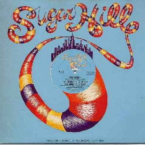 Furious Five Meets The Sugarhill Gang - Showdown/Showdown (Instrumental) (12 inch vinyl Maxi Single, 1981 first issue of Pioneering Rap Sound!) - EX8/ - Maxi Singles