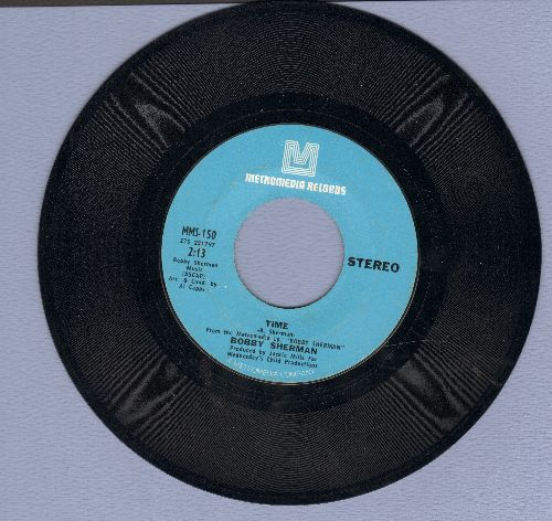 Sherman, Bobby - La La La (If I Had You)/Time - NM9/ - 45 rpm Records