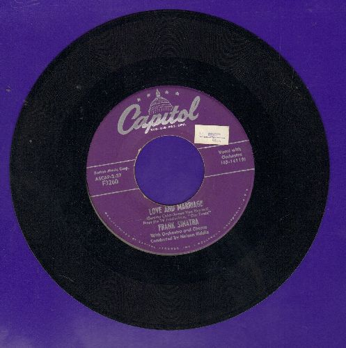 Sinatra, Frank - Love And Marriage/The Impatient Years (sol) - VG7/ - 45 rpm Records