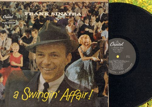 Sinatra, Frank - A Swingin' Affair!: Night And Day, I Got Plenty O' Nuttin', Nice Work If You Can Get It (vinyl MONO LP record) - VG7/VG7 - LP Records
