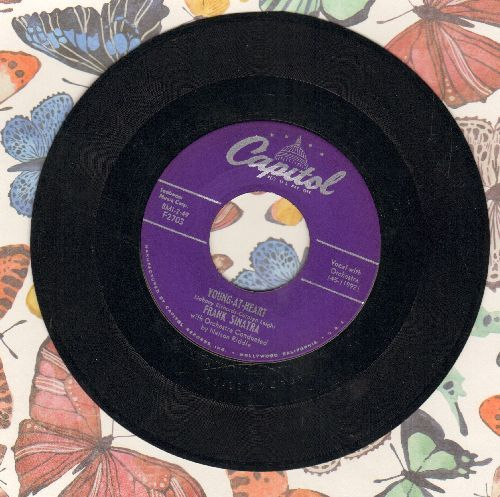 Sinatra, Frank - Young-At-Heart/Take A Chance (purple label early pressing) - EX8/ - 45 rpm Records