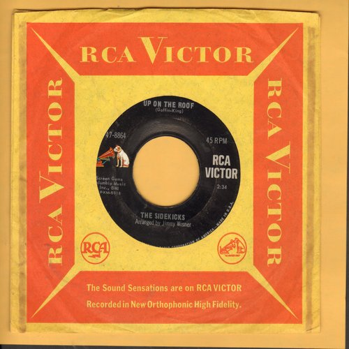 Sidekicks - Up On The Roof/Suspicion (with RCA company sleeve) - EX8/ - 45 rpm Records