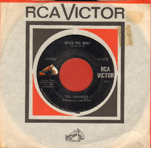 Sidekicks - Up On The Roof/Suspicion (with RCA company sleeve) - NM9/ - 45 rpm Records