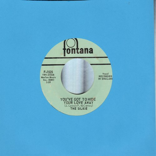 Silkie - You've Got To Hide Your Love Away/City Winds (bb) - VG7/ - 45 rpm Records