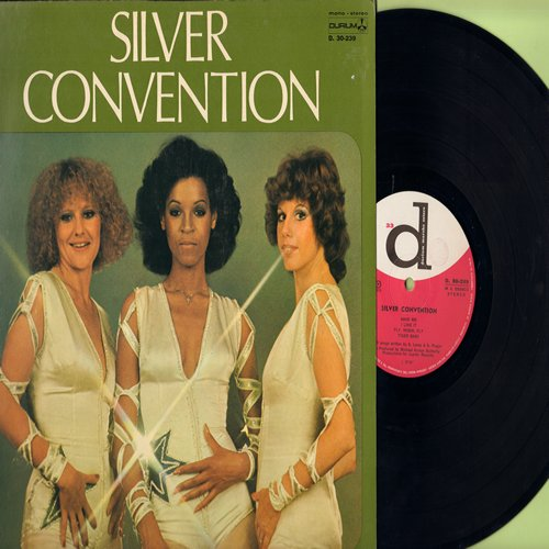 Silver Convention - Silver Convention: Save Me, Fly Robin Fly, Tiger Baby, Always Another Girl (vinyl STEREO LP record, Italian Pressing) - M10/EX8 - LP Records