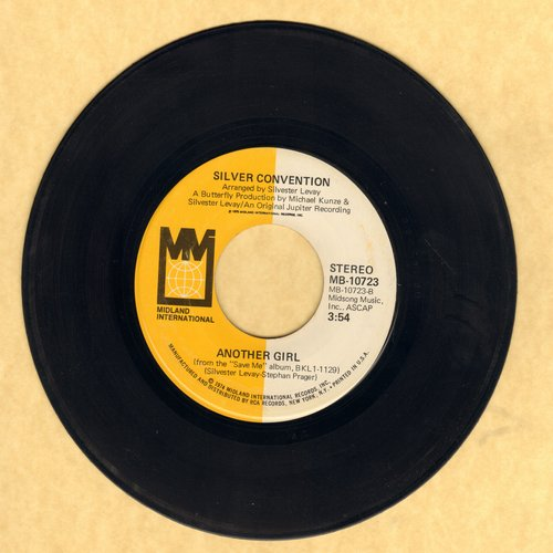Silver Convention - Another Girl/No, No, Joe - EX8/ - 45 rpm Records