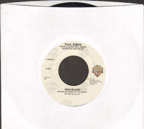 Simon, Paul - Graceland/Hearts And Bones - NM9/ - 45 rpm Records