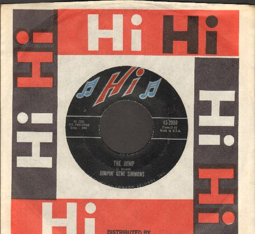 Simmons, Jumpin' Gene - The Jump/The Dodo (with Hi company sleeve) - EX8/ - 45 rpm Records