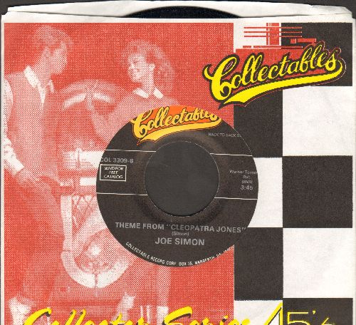 Simon, Joe - Theme From Cleopatra Jones/Get Down, Get Down (Get On The Floor) (double-hit re-issue with Collectables company sleeve) - M10/ - 45 rpm Records