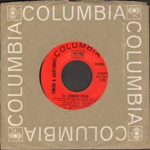 Simon & Garfunkel - El Condor Pasa/Why Don't You Write Me - NM9/ - 45 rpm Records
