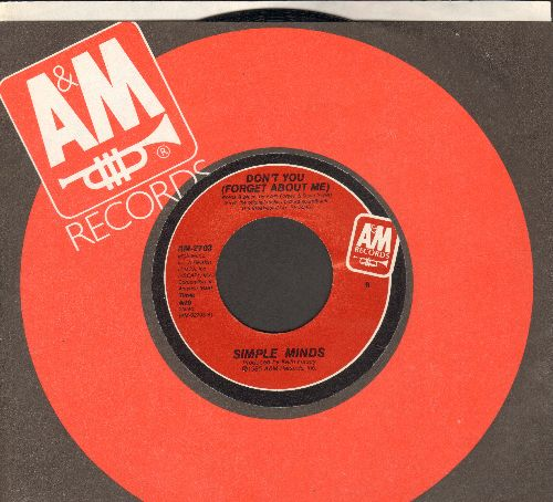 Simple Minds - Don't You (Forget About Me)/A Brass Band In Africa (with juke box label) - NM9/ - 45 rpm Records