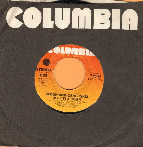 Simon & Garfunkel - My Little Town/Rag Doll/You're Kind - EX8/ - 45 rpm Records